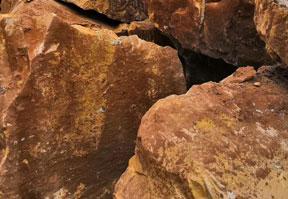 云南黄砂岩荒料