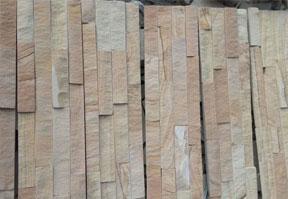 黄砂岩文化石实拍图