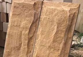 云南蘑菇石砂岩石材